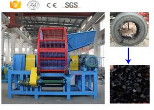 China Hot sale !!! Big capacity used tire rubber crusher machine manufacturer with CE on sale
