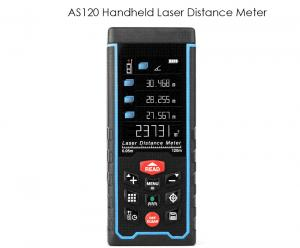 China New Release 120m 1.9 LCD Digital Self-Calibration Laser Distance Meter With Camera Measurement Function on sale