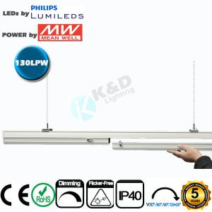 China 5ft 70W Linkable LED Linear Lighting High CRI IP54 LED Linear Fixture on sale