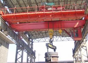China QDY / YZ Heavy Duty Foundry Overhead Crane For Lifting Steel Billet on sale
