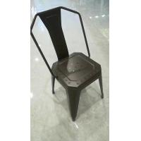 China High Durability Modern Metal Dining Chairs For Bedroom / Kitchen / Living Room on sale