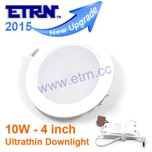 China ETRN Ultrathin 4Inch 2835 SMD Led downlight Lampada Panel 10W Recessed Round Ceiling Light on sale