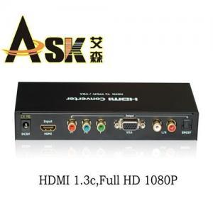 China HDMI to VGA/Ypbpr converter on sale