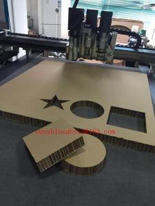 China 50mm Honeycomb Paper Board Sample Prototype Digital Cutting Plotter Machine on sale