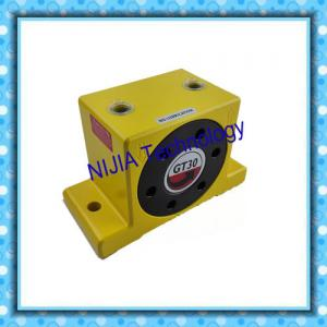 China Yellow / Black Pneumatic Turbine Vibrator Fast Response With Low Noise on sale