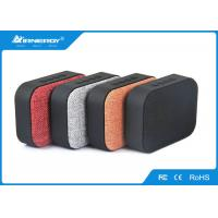Fabic Cloth Bluetooth Speaker , Stereo Bluetooth Speaker With SD Card Slot