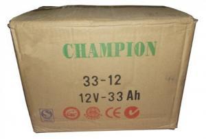 China Inverter Batteries 12v33ah UPS Deep Cycle Lead Acid Battery Good Service Life on sale