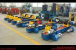 ロールスロイスのタンク溶接の回転子150000kgを回すゴム製ローラーの鋼管の溶接