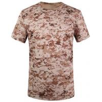 Camouflage desert t-shirts army T-shirt military T-shirt Round Collar/POLO