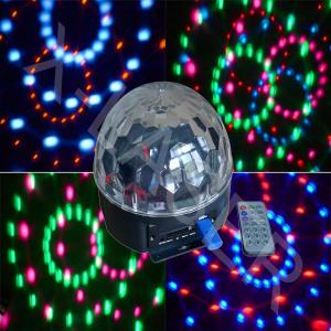 China Disco Ball Light/RGBWOR LED Magic Ball Light/Magic Light Ball With MP3 on sale