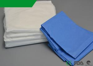 China Sterile Disposable Stretcher Sheets , Flat Plastic Bed Cover 33 X 89 Inches on sale