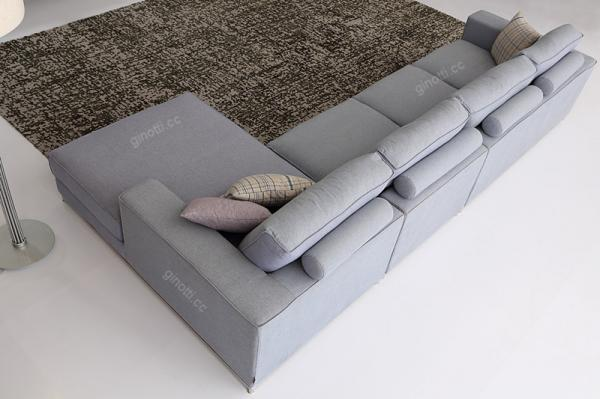 Latest Purple Modern Fabric Sofa Bed For Home Furniture Minotti fabric sofas Simple - Review minotti sofa bed For Your Home