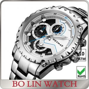 China Chronograph Stainless Steel Heavy mens sporty watches for outdoor activities on sale