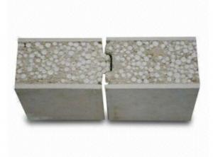 China Residential Eps Cement Sandwich Panel , Fiber Cement Panels For Exterior on sale