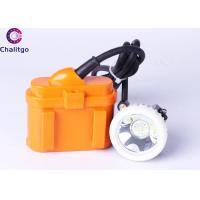 KJ6LM LED Miners Cap Lamp Cordless Mining Lights  6Ah Battery