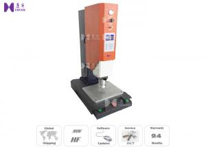 China Plastic Charger Auto Ultrasonic Plastic Welding Machine 300×200×850 MM on sale