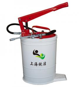 China Hand Grease pump RJ-6032 20L The Lubrication pump for Heavy Machines on sale