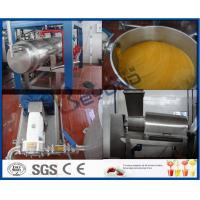 Mango Processing Equipment Mango Juice Processing Plant , Mango Juice Extractor Machine