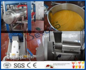 China Mango Processing Equipment Mango Juice Processing Plant , Mango Juice Extractor Machine on sale
