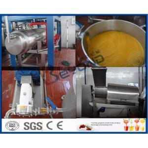 China Mango Processing Equipment Mango Juice Processing Plant , Mango Juice Extractor Machine on sale