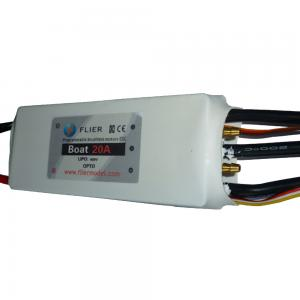 China 400V Brushless Motor Esc Combo 20A Speed Controller For Fishing Bait Boat on sale