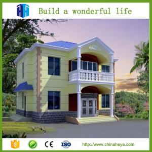 China Chinese manufacturer export mexico steel prefab home villa house hotel on sale