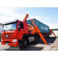 TITAN  20ft 40ft xcmg Self Loading Container Truck Trailer , xcmg side lifter trailer
