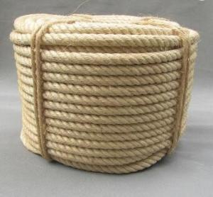 China 3 strand  twisted natural sisal rope for oil industry on sale