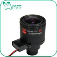 Wide Angle CCTV Zoom Lens Fixed Aperture -20℃- 80℃ Operating Temerature