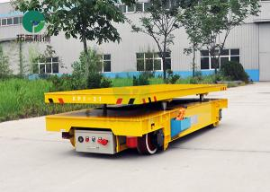 China Warehouse Heavy Duty Motorized Material Handling Explosion-Proof Battery Electric Trolleys Cart On Rail on sale