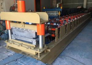 China 460 Standing Seam Roll Forming Machine, Profile Roofing Sheet Making Machine India Design on sale
