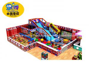 China Anti - Crack Funny Soft Indoor Playground Equipment With 1 Year Warranty on sale