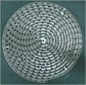China Silver White Tungsten Rhenium Wire MOCVD Heater Filaments Customized Size on sale