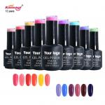 organic private label color soak off uv gel nail polish