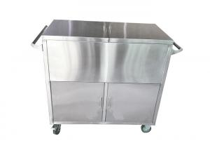 China Medical Trolley Two Door Stainless Steel Case Carts For CSSD on sale