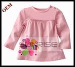 As crianças vestem a blusa 2013 das crianças da mola do algodão da blusa das meninas