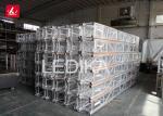 290mm Aluminum Spigot Truss Structure / Event Round Lighting Truss For Decoration