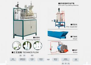 China Professional Thermocol Cup Making Machine 6~16 Seconds/Cycle Production Cycle on sale