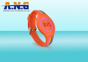 China OEM Rfid Wristbands Silicone with LED digital watch / led touch screen watches on sale