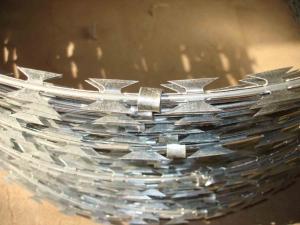 China el alambre de púas de la maquinilla de afeitar/galvanizó el alambre de púas de la maquinilla de afeitar/barato el alambre de la maquinilla de afeitar on sale