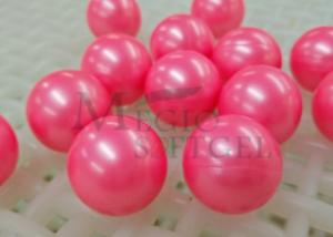 China Paintballs for paintballing bunker games, pink shell, pink filling, paintball ammo on sale