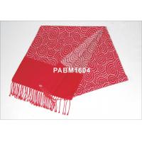 China 2013 New Red Pattern 100 % Silk Woven Silk Scarf Comfortable on sale