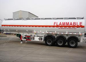 China 3 axles 42000 liters pneumatic tank trailers 9 compartment European system on sale