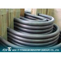 Seamless / Welded Commercial Titanium Heat Exchanger Tube Pure Alloy U Bend ASTM B338