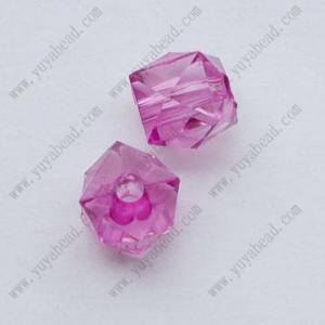 China cube crystal necklace jewelry bead on sale