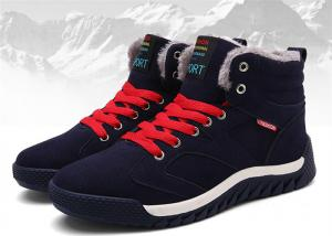 China Warm / Comfortable Mens Winter Work Shoes , Cow Suede Safety Shoes OEM / ODM  Available on sale