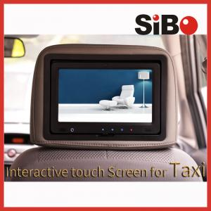 China Digital Media In Car Advertising Screen For Taxi on sale
