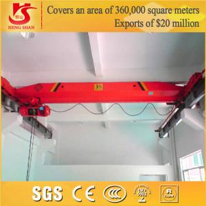 China Workstation Lifting Crane Electric Single Girder Crane on sale