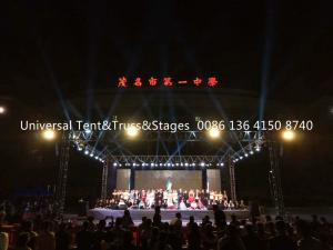 China Aluminum Concert Line Array Speaker Stage Lighting Truss 4 Meter Single Length on sale