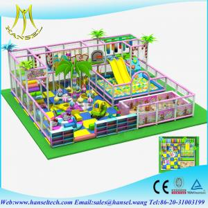China Hansel forest theme kids soft play soft playground equipment on sale